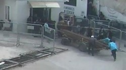 Explosives and materials for ISIL caught on camera exiting Turkey to Syria