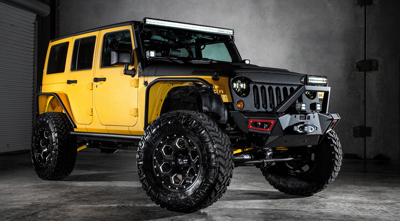 Jeep Wrangler Yellow Jacket by Starwood Motors ...
