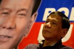 Philippine presidential frontrunner Rodrigo Duterte vows to pardon himself for murder – AB ...