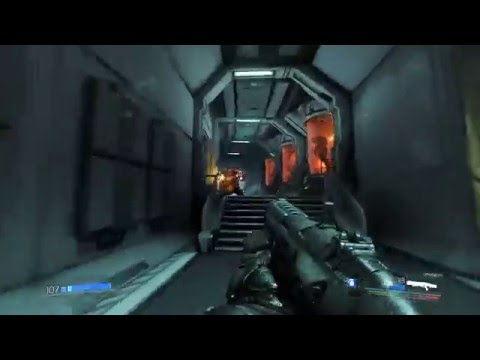 Exclusive DOOM 1080p 60FPS Gameplay with Vulkan API on GeForce GTX – YouTube