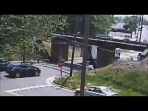 The 11 Foot 8 Bridge, also known as the Canopener Bridge, is an overpass in Durham, North Carolina known for its numerous collisions with trucks passing underneath. The bridge gained much notoriety online after a local resident began posting video foo ...