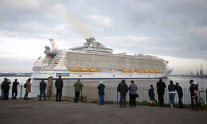 The world's largest cruise ship and its supersized pollution problem | Environment | The G ...
