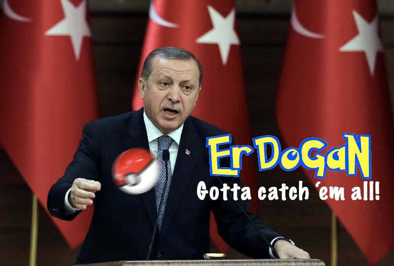 After FaceTime broadcast, President Erdogan takes equally modern approach to rounding up dissidents.