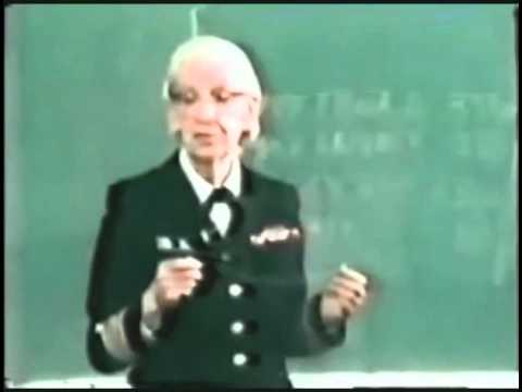 Grace Hopper – Nanoseconds – YouTube