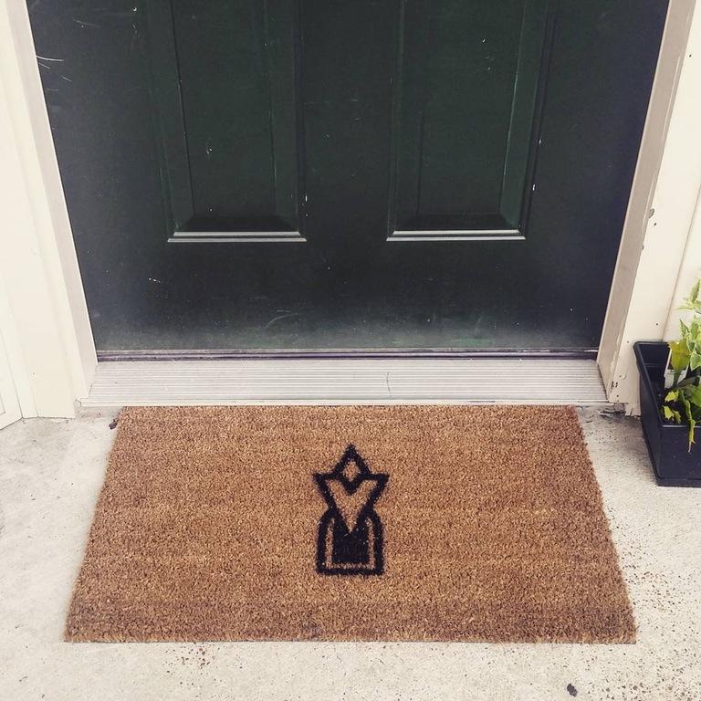 Home made Skyrim welcome mat