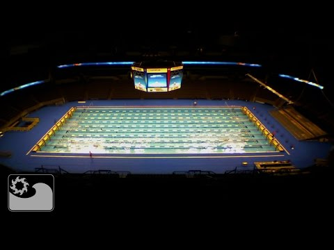 OMAHA Olympic Trials – time lapse pool installation – YouTube