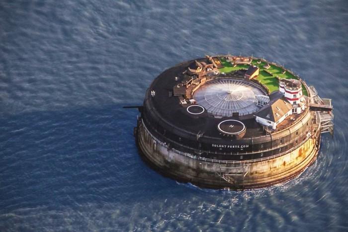 19th Century Sea Fort Luxury Hotel | HiConsumption