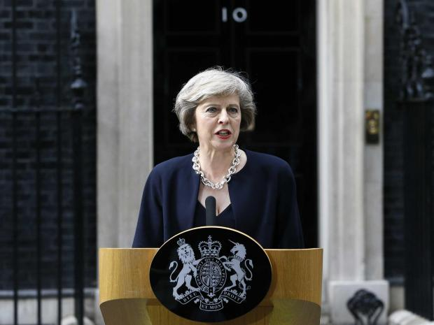 Theresa May speech that laid out plans to scrap the Human Rights Act deleted from the internet | ...