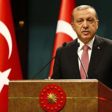 Turkey: Rights Protections Missing From Emergency Decree | Human Rights Watch