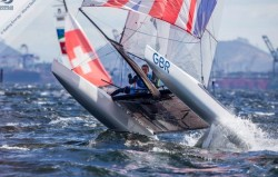 British sailors in five medal positions at Rio Olympics