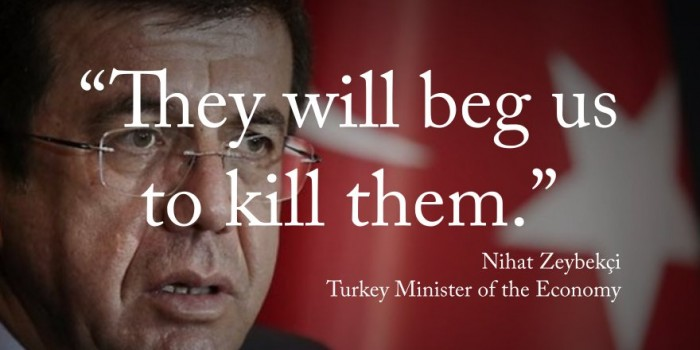 Economy Minister Nihat Zeybekci has responded to concerns about Turkey coup suspects' righ ...