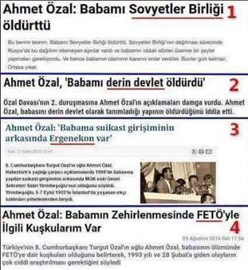 And then there is this too, from Ahmet Özal over the years.