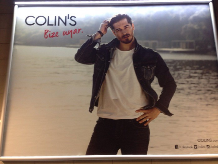 Clothing retailer Colin's seized amid anti-Gulenist purge. The prophetic slogan says &#822 ...