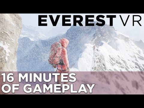Everest VR GAMEPLAY: Conquering Your Fear of Heights in Virtual Reality – YouTube