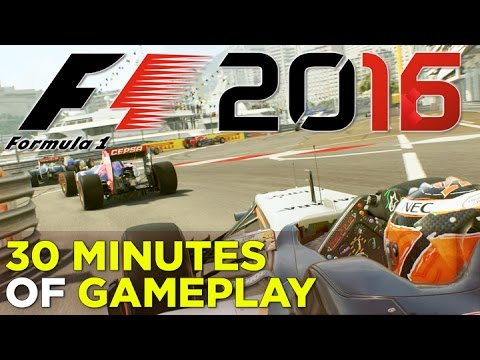F1 2016 – 30 Minutes of GAMEPLAY – YouTube