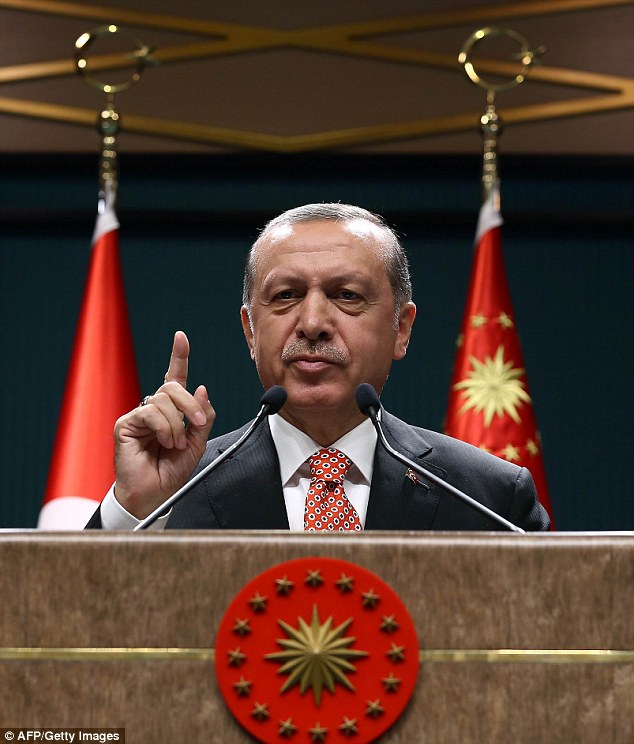 German commissioner says Turkey can forget EU membership while Erdogan is still in power | Daily ...