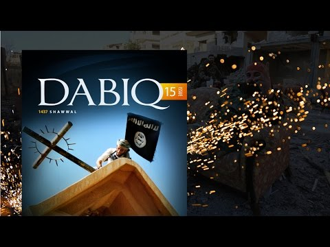 """ISIS Magazine LAUGHS at the West's """"Islam is a Religion of Peace"""" Narrative – YouTube"""
