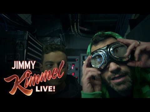 "Jimmy Kimmel Joins ""Mr. Robot"" – YouTube"