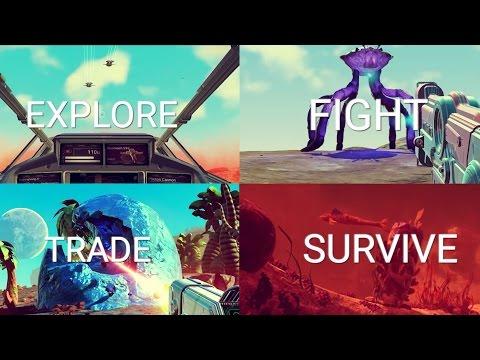 No Man's Sky | 'Explore, Fight, Trade & Survive' Pillar Roundup Trailer | PS4 – YouTube