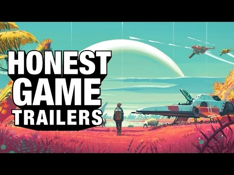 NO MAN'S SKY (Honest Game Trailers) – YouTube