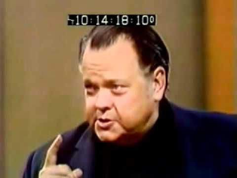 Orson Welles on Cold Reading – YouTube