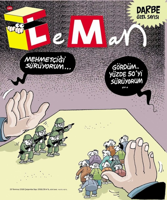 President Erdogan's attempts to silence Turkish satirists: not working   Public Radio Inte ...