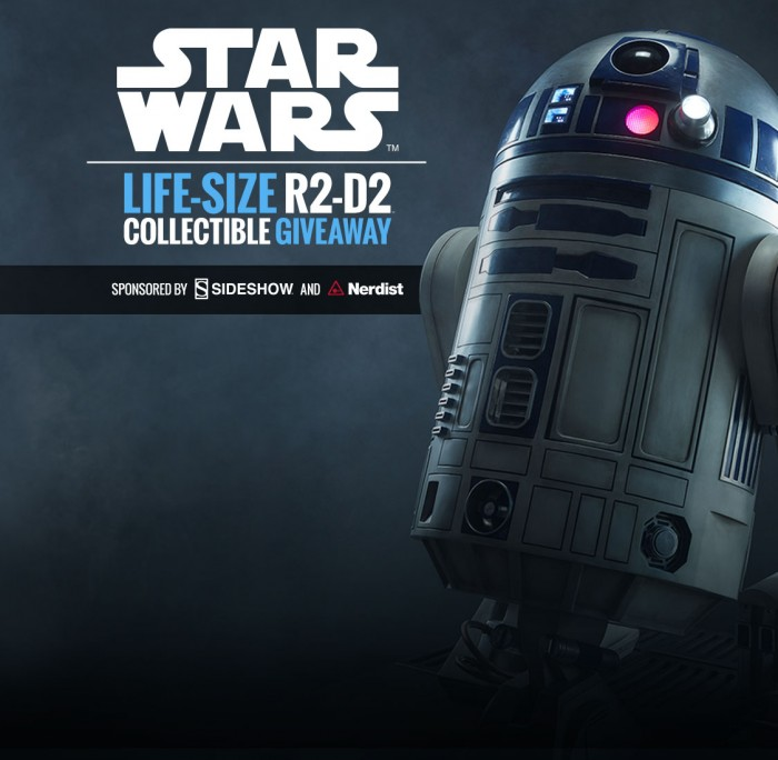 R2-D2 Life-Size Figure Giveaway | Sideshow Collectibles