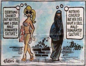The Burkini-Bikini False Equivalence and Your Disproportionate Outrage – The Ex-Muslim
