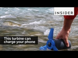 This turbine uses water to charge your phone – YouTube