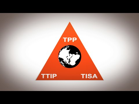 WikiLeaks – The US strategy to create a new global legal and economic system:  TPP, TTIP, TISA. – YouTube