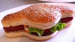 Australian man patents the Hamdog – a hotdog and burger combo – BBC Newsbeat