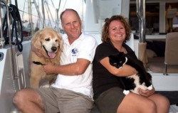 Pets on board: cruising with your dog or cat – Yachting World
