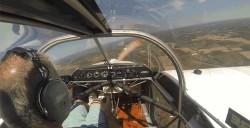 Pilot Calmly Lands Plane After Propeller Falls Off