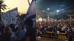 BDTN.: Jews in Israel call for genocide of Palestinians in a massive rally ignored by the media