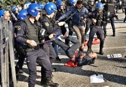 "Ece Toksabay on Twitter: ""Turkish police blocks commemoration ceremony on the anniversary  ..."