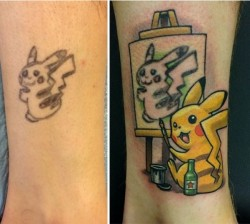 The most creative cover-up Ive ever seen