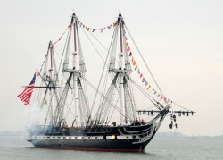 USS Constitution, Built in 1797, The Only Active Ship In The US Navy That Has Sunk An Enemy Ship