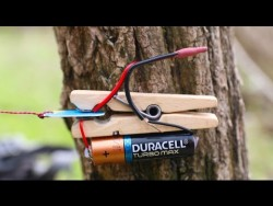 How to make a TRIP-WIRE ALARM – YouTube