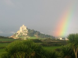 St. Michaels Mount at the end of the rainbow