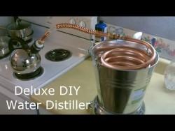 "Homemade Water Distiller! – The Deluxe DIY ""pure water"" Water Distiller!  Full ..."