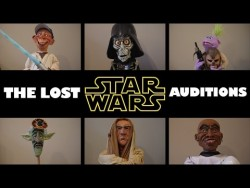 """The lost Star Wars auditions""  