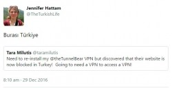 Turkey, home of VPNception