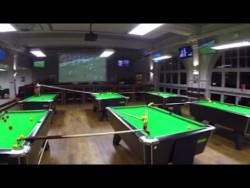 Bristol sports bar pulls off amazing trick shot – video – YouTube
