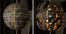 I Turned IKEA Lamp Into A Death Star | Bored Panda