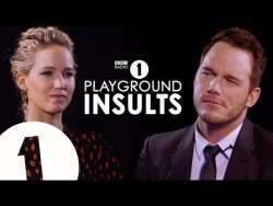 Jennifer Lawrence & Chris Pratt Insult Each Other | CONTAINS STRONG LANGUAGE! – YouTube