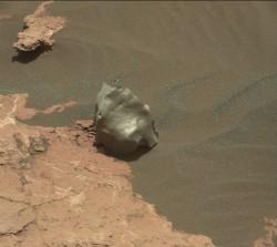Meteorite on Mars
