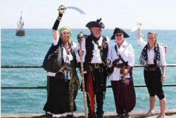 Penzance will be filled with pirates again as the town stages another Guinness World Record atte ...