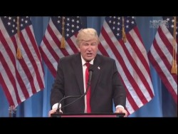 'SNL' Donald Trump Press Conference Video – YouTube