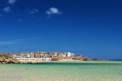 St. Ives from porthminster beach
