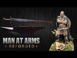 Ulfberht Viking Sword – MAN AT ARMS:REFORGED – YouTube